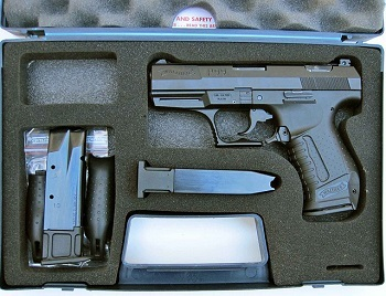 Walther P99 9mm Semi Auto Handgun