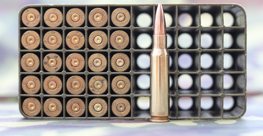 Bullet Shell Round