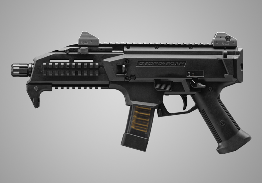 CZ Scorpion Evo Carbine 9mm