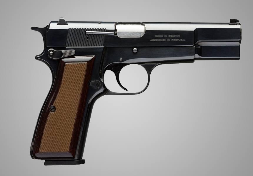 The Browning Hi Power Classic best 9mm handgun