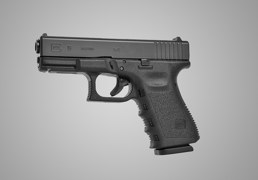 Glock 19 9mm Compact Semi Automatic Pistol