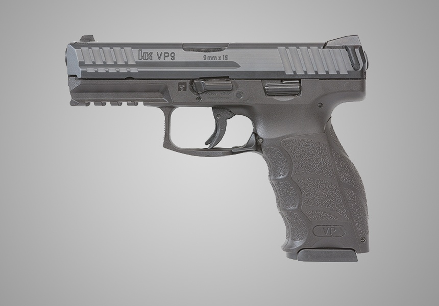 The HK VP9 9mm Pistol