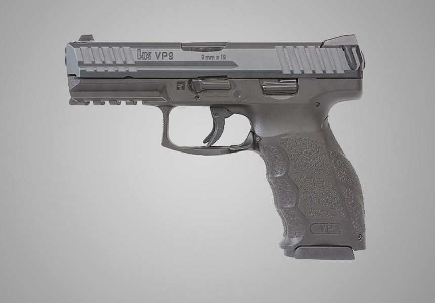The HK VP9 9mm Pistol