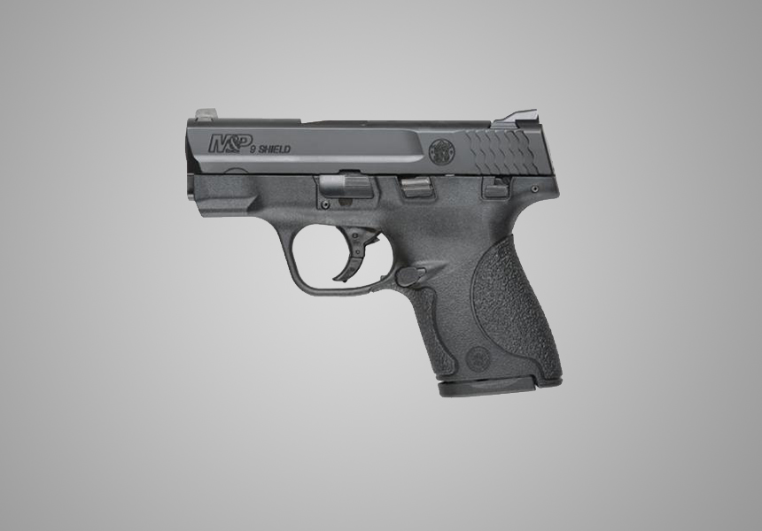 Smith and Wesson Shield best 9mm pistol