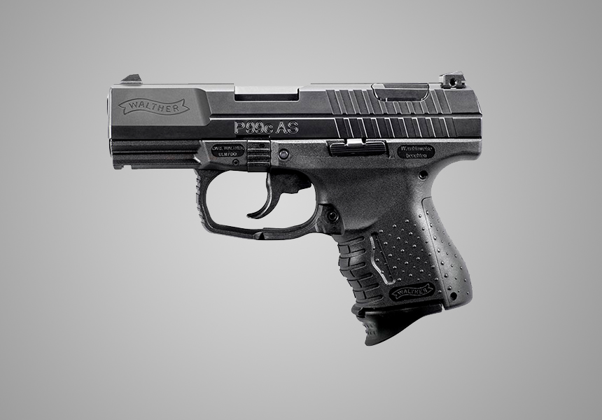 Walther P99 AS best 9mm pistol