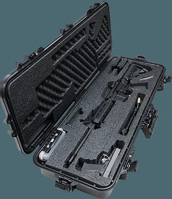 Case Club Tactical AR 15 Rifle Hard Shell Case