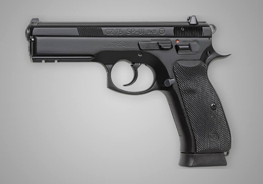 CZ 75 SPO1 For Females