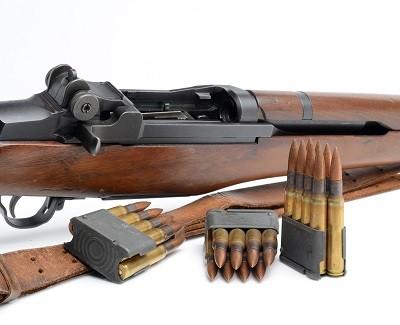 M1 Garand Rifle WWII