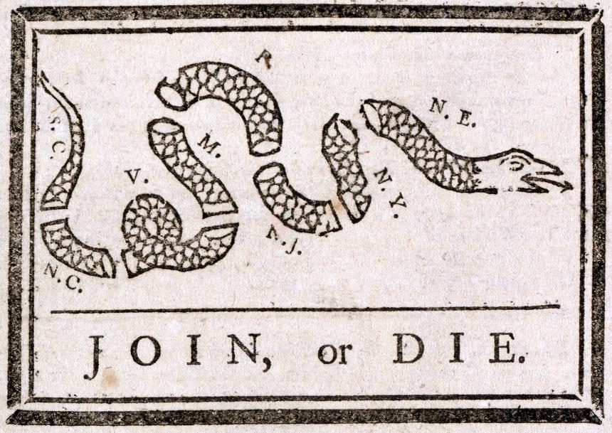 American Revolution & James Gadsden Don't Tread History