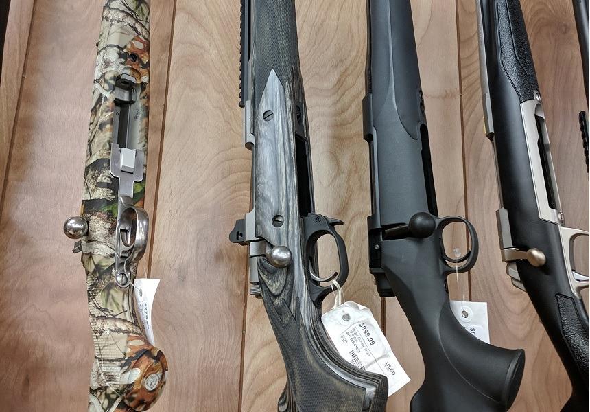 6.5CM bolt-action Rifles