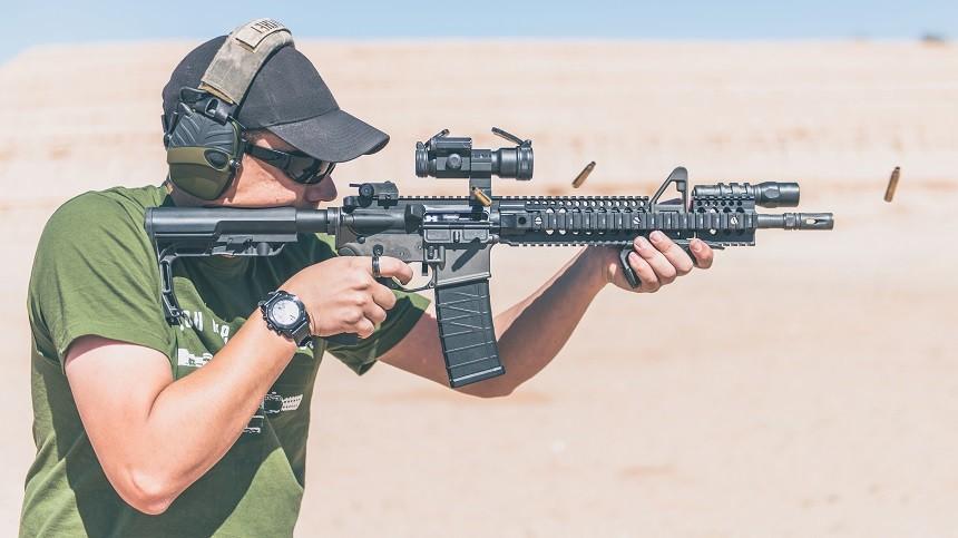 AR-15 With Aimpoint