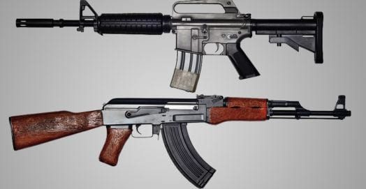 The AR-15 Versus The AK-47