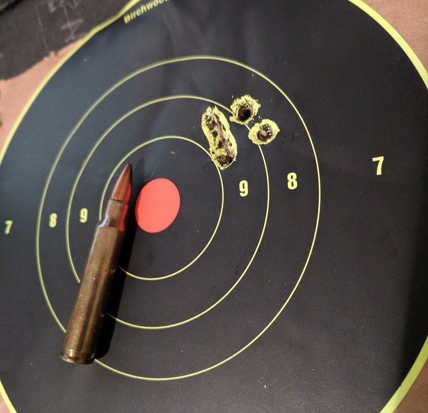 Ruger Mini 14 Shot Placement
