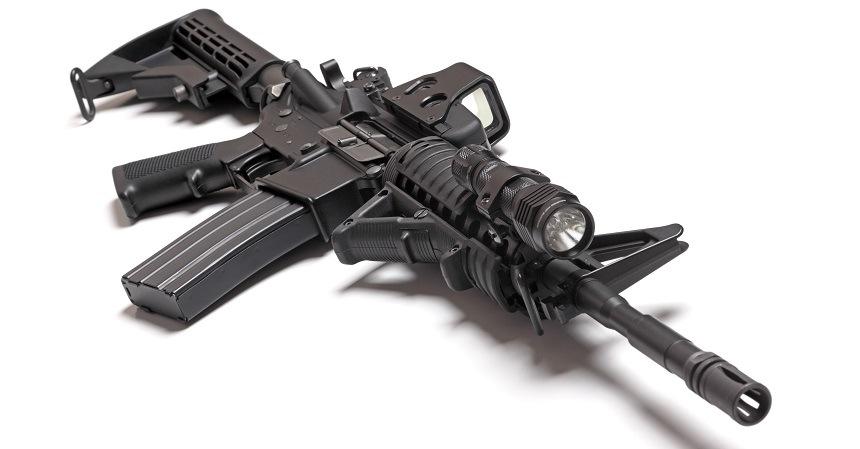 AR 15 With Light