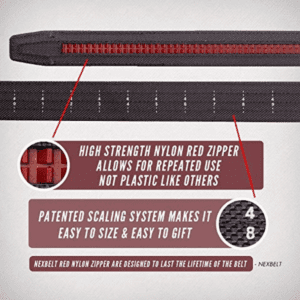 infographic of best technology in everyday concealed carry belt