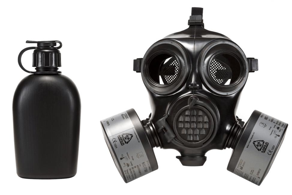 MIRA SAFETY full respirator gas mask