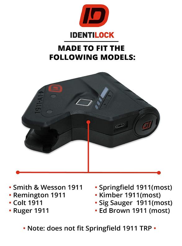 identilock gun lock models