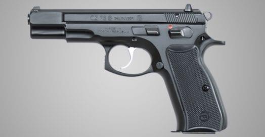 CZ-75B-Handgun