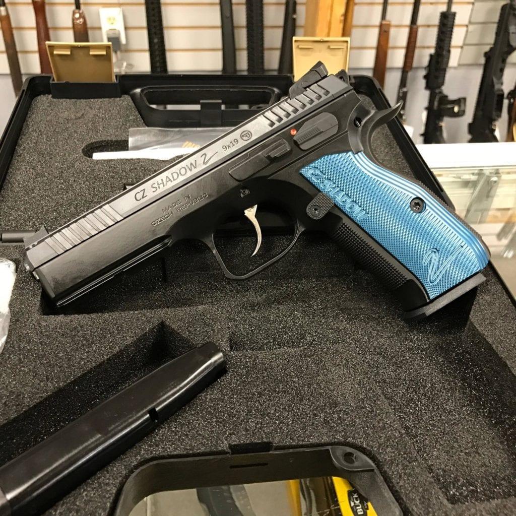 cz shadow 2 fullsize 9mm pistol