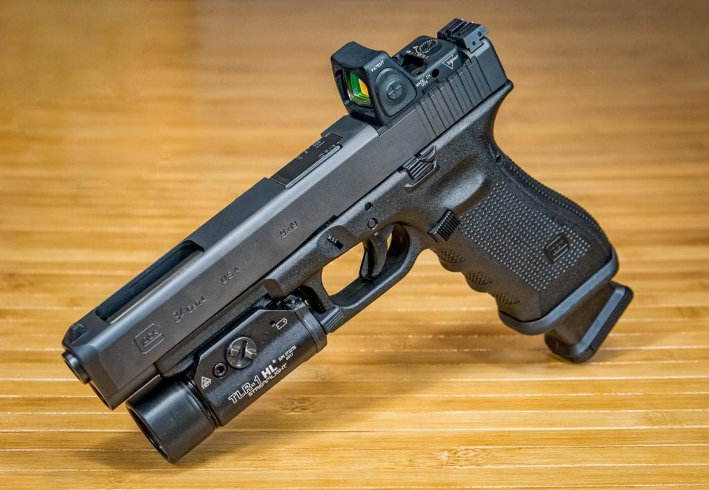 Glock 34 MOS full-size 9mm pistol