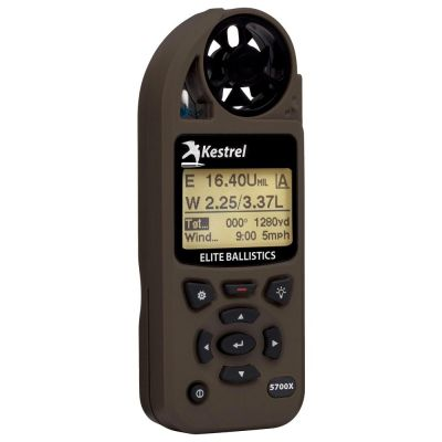 kestrel ballistics meter