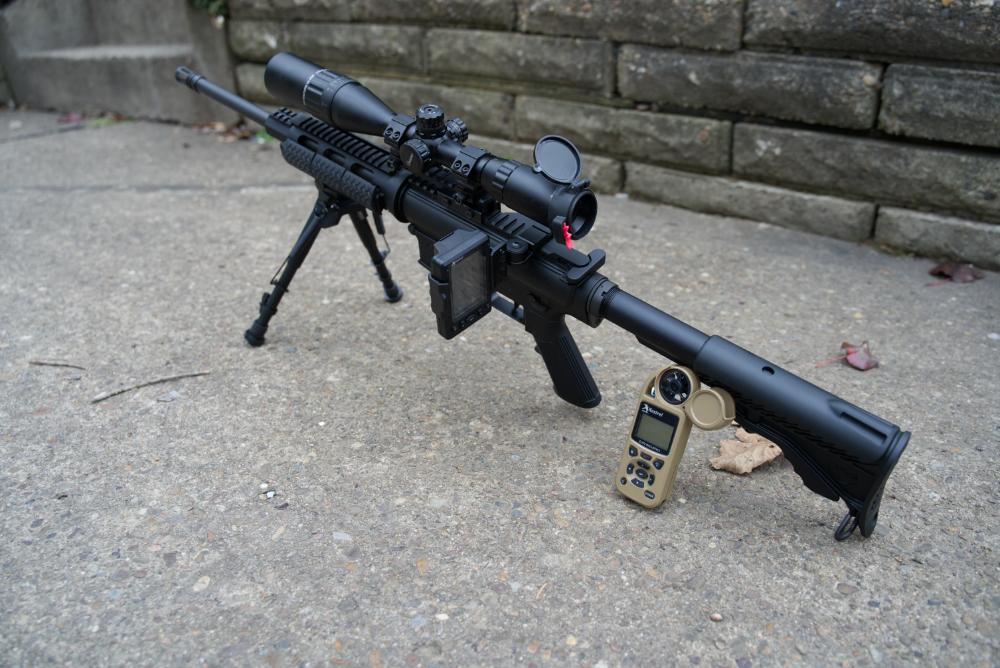 ballistics meter and HUD